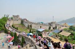 Chongqing Foreigner Street Wall Lizenzfreies Stockbild