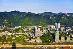 Chongqing - Gebirgsstadt Lizenzfreies Stockfoto