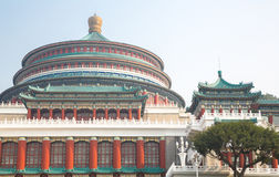Chongqing Great Hall of People stock photo