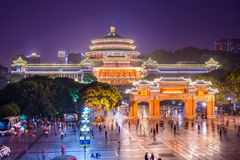 Chongqing Great Hall of the People Royalty Free Stock Photos