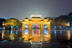 Chongqing Great Hall of People Stock Photography