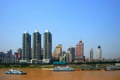 Chongqing, Hong Kong Ferry Terminal Royalty Free Stock Photos
