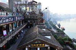 Chongqing Hongyadong foto de archivo