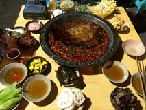 Chongqing Hot pot Stock Image