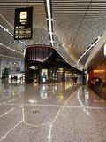 Chongqing International Airport. Chongqing Jiangbei International Airport is one of the top 10 airports in China. It has retained this rank for five consecutive Royalty Free Stock Photography