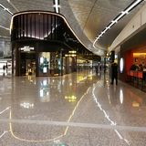 Chongqing International Airport. Chongqing Jiangbei International Airport is one of the top 10 airports in China. It has retained this rank for five consecutive Royalty Free Stock Image