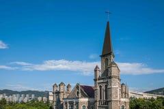 Chongqing Jiangbei-Mund Evangelium-Kirche Stockbild
