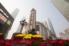 Chongqing-jiefangbei stockbilder