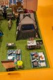 Chongqing Leisure Products Fair sur le salon nautique en caoutchouc Photos stock