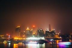 Chongqing linia horyzontu Zdjęcie Royalty Free