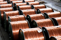 Chongqing metal wire and cable wire and cable manufacturing stock photography