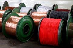 Chongqing metalu kabel i drut depeszujemy produkci i depeszujemy Zdjęcia Royalty Free