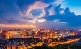 Chongqing miasto Zdjęcia Stock