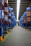 Chongqing Minsheng Logistics Auto Parts-Pakhuis Stock Foto's