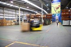 Chongqing Minsheng Logistics Auto Parts-Pakhuis Royalty-vrije Stock Foto's
