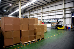 Chongqing Minsheng Logistics Auto Parts-Pakhuis Stock Afbeeldingen