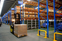 Chongqing Minsheng Logistics Auto Parts Warehouse Imágenes de archivo libres de regalías