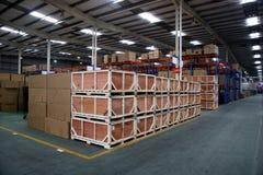 Chongqing Minsheng Logistics Auto Parts Warehouse Foto de archivo libre de regalías