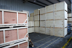 Chongqing Minsheng Logistics Auto Parts Warehouse Fotografía de archivo libre de regalías