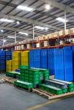 Chongqing Minsheng Logistics Auto Parts Warehouse Royalty Free Stock Images