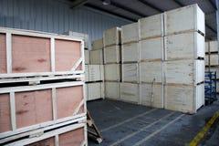 Chongqing Minsheng Logistics Auto Parts Warehouse Royalty Free Stock Photography