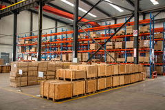 Chongqing Minsheng Logistics Baotou Branch Auto Parts Warehouse Stock Image