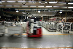 Chongqing Minsheng Logistics Baotou Branch Auto Parts Warehouse Stock Images