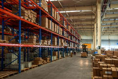 Chongqing Minsheng Logistics Beijing Branch Auto Parts Warehouse Stock Images