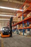 Chongqing Minsheng Logistics Beijing Branch Auto Parts Warehouse Royalty Free Stock Photos