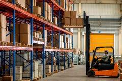 Chongqing Minsheng Logistics Beijing Branch Auto Parts Warehouse Stock Image