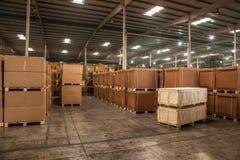 Chongqing Minsheng Logistics Chongqing Branch Auto Parts Warehouse Stock Photo