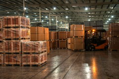 Chongqing Minsheng Logistics Chongqing Branch Auto Parts Warehouse Royalty Free Stock Photo