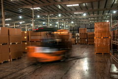 Chongqing Minsheng Logistics Chongqing Branch Auto Parts Warehouse Royalty Free Stock Photography