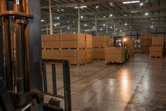 Chongqing Minsheng Logistics Chongqing Branch Auto Parts Warehouse Stock Image