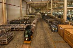 Chongqing Minsheng Logistics Chongqing Branch Auto Parts Warehouse. Chongqing Changan Minsheng Logistics Co., Ltd. has with Changan Automobile, Changan Ford Stock Images