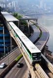 Chongqing monorail System Stock Photos