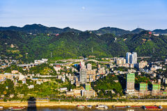 Chongqing - Mountain City Royalty Free Stock Photo