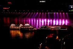 Chongqing at night Stock Images