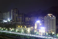 Chongqing night Stock Photography