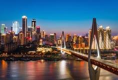 Chongqing Night Skyline lizenzfreies stockbild