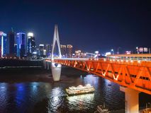 Chongqing noc Scenary Obraz Royalty Free