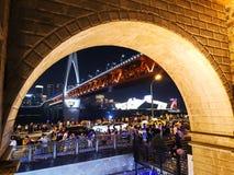 Chongqing noc Scenary Zdjęcia Stock