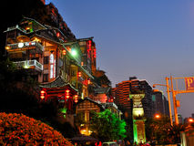 chongqing noc sceny obrazy royalty free