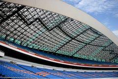 Chongqing Olympic mötesplatser Arkivbilder