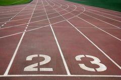 Chongqing Olympic Sports Center landningsbana Arkivbilder