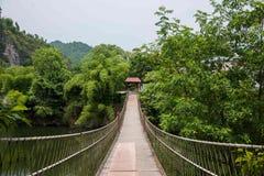 Chongqing Oriental-Volksbadekurort-Hotel Banan District, Kurorttourismusstoff Flussufer-Ostbezirk mit fünf Frühlingen, Chongqing- Lizenzfreie Stockfotos