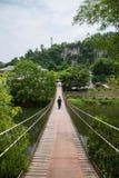 Chongqing Oriental-Volksbadekurort-Hotel Banan District, Kurorttourismusstoff Flussufer-Ostbezirk mit fünf Frühlingen, Chongqing- Lizenzfreies Stockbild