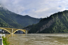 Chongqing PengShui County scenery Stock Photography