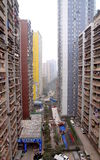 Chongqing Residential Buildings Royalty Free Stock Images