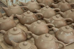 An Chongqing Rongchang pottery studio pottery museum Rongchang Tao blank Stock Photography